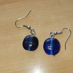 Blue beauties earrings